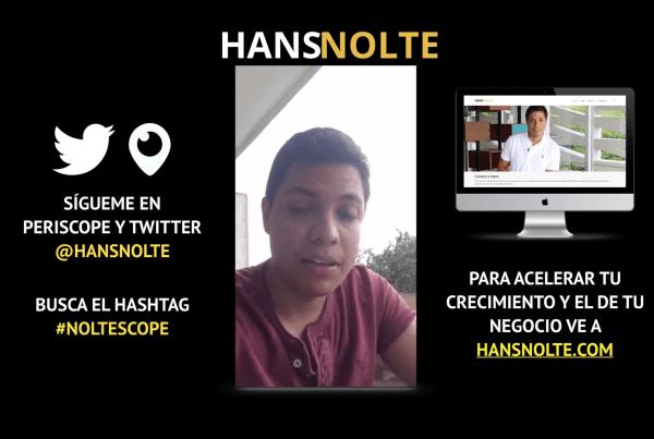 Hans Nolte - 2 cambios mentales para expandir tu negocio parte 1 noble idea del cambio
